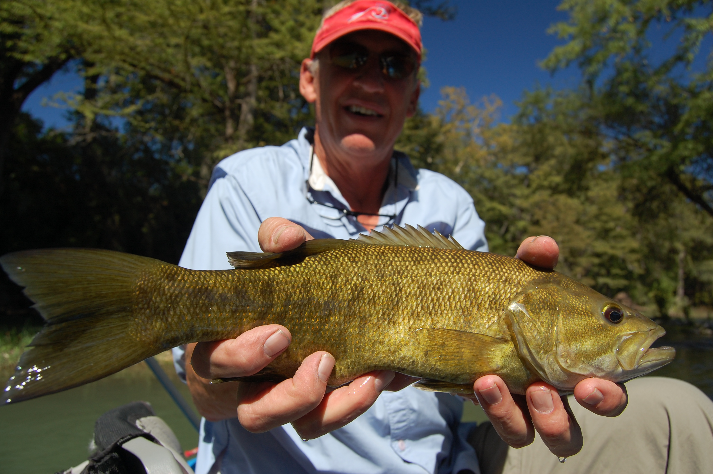 Guadalupe river fly fishing guides guadalupe fishing guide for Texas fishing reports